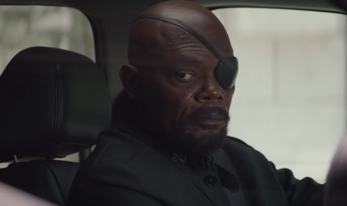 'Captain Marvel' Includes The Origin Story Of Fury's Eyepatch & It's Really… Something