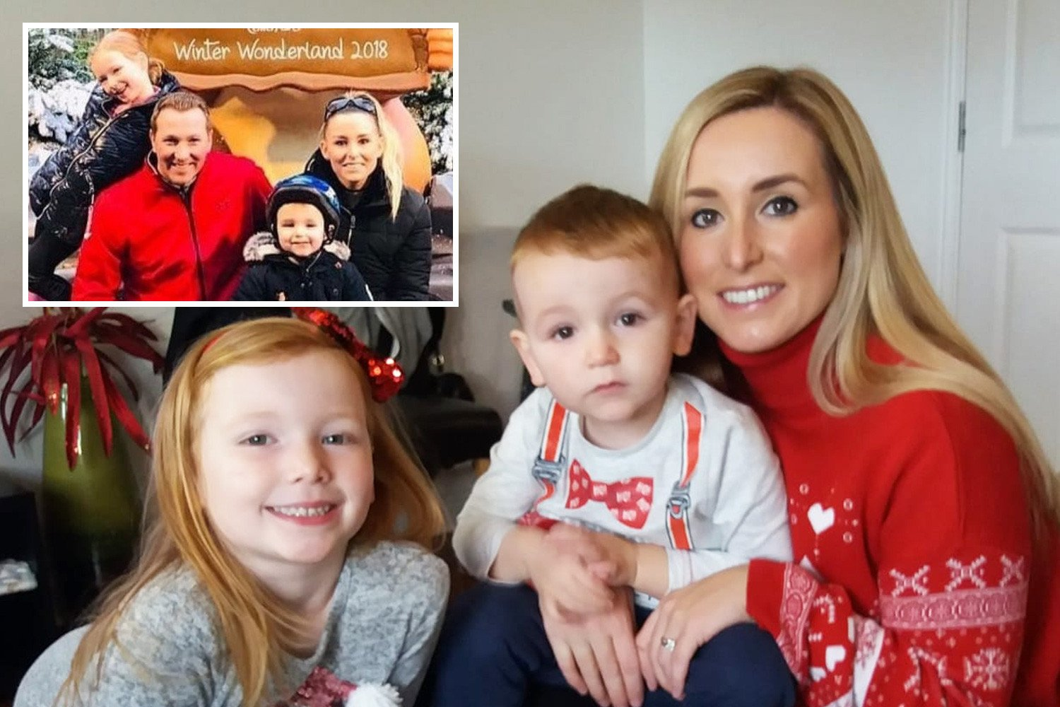 Mum-of-two with aggressive breast cancer dies at just 35 with family by her side