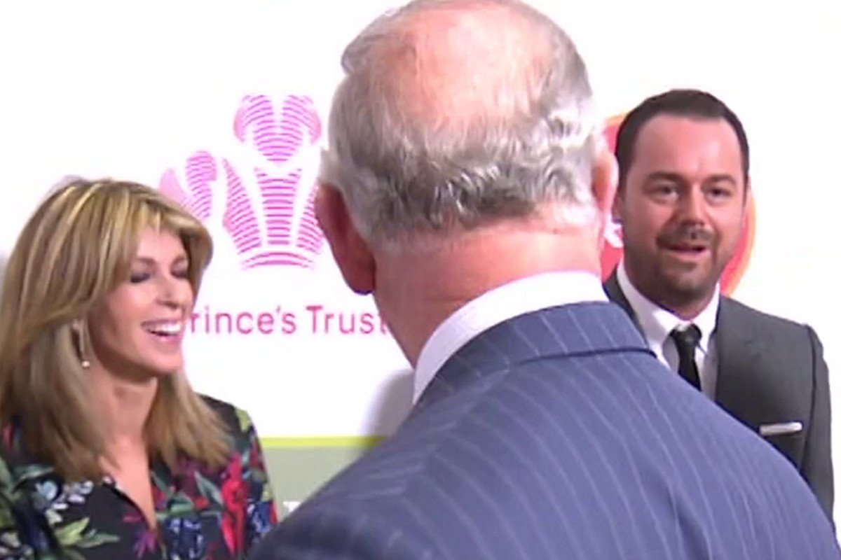 Good Morning Britain reveals Prince Charles 'moved on swiftly' after Danny Dyer tried to tell them they are related