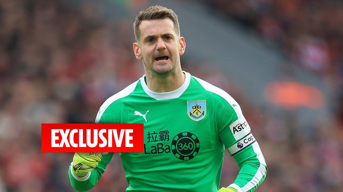 Tom Heaton vows to battle Jordan Pickford tooth and nail for England's No1 spot