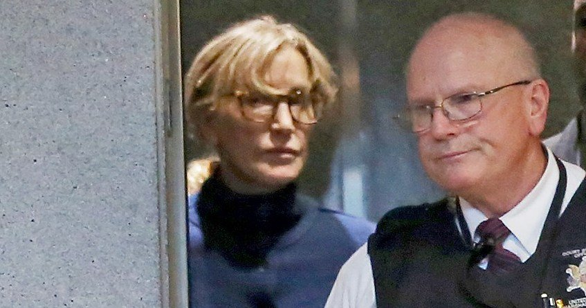 Felicity Huffman Seen for First Time Since Arrest in College Scam