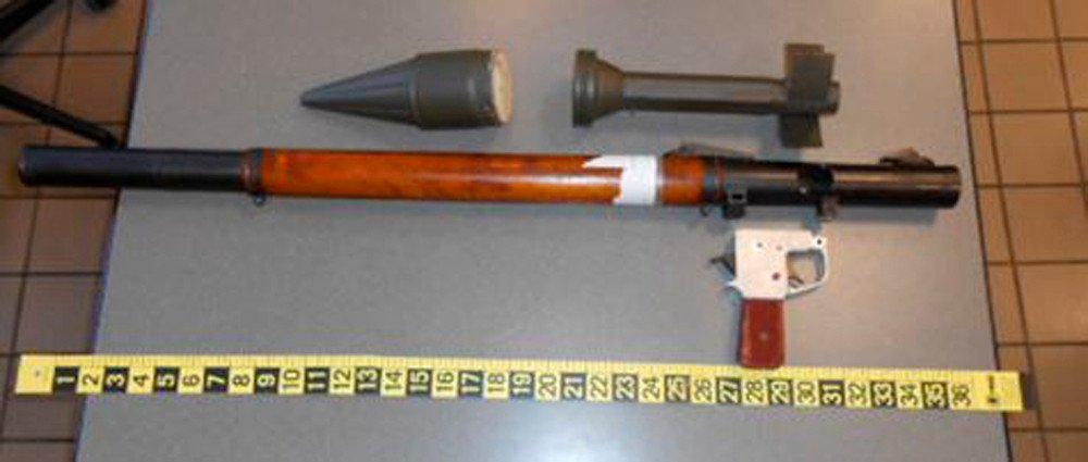 Plane passenger tries to check in rocket-propelled GRENADE LAUNCHER on US flight