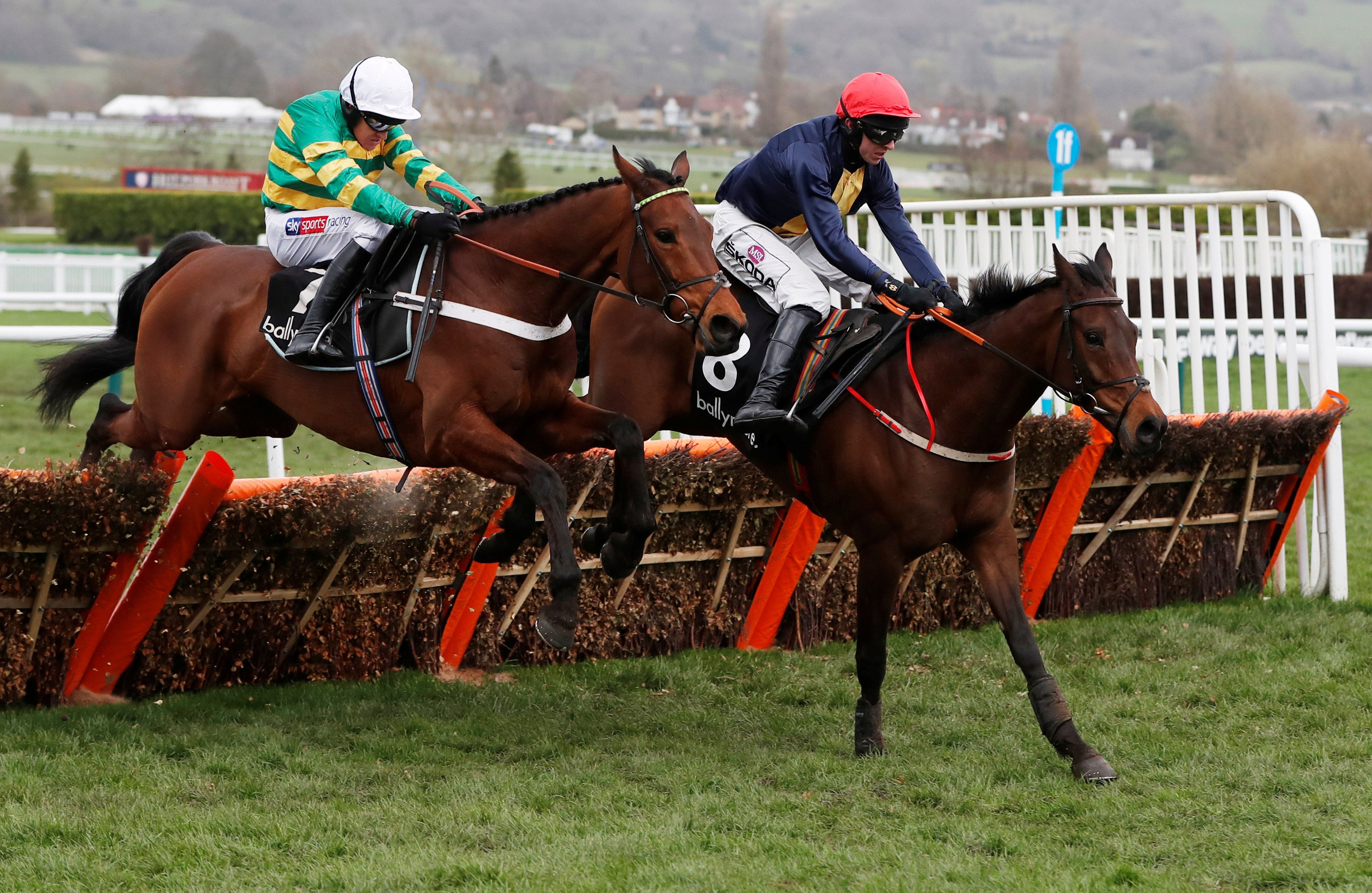 Cheltenham Festival 2019: City Island sees off brave Champ to land Ballymore Novices' Hurdle