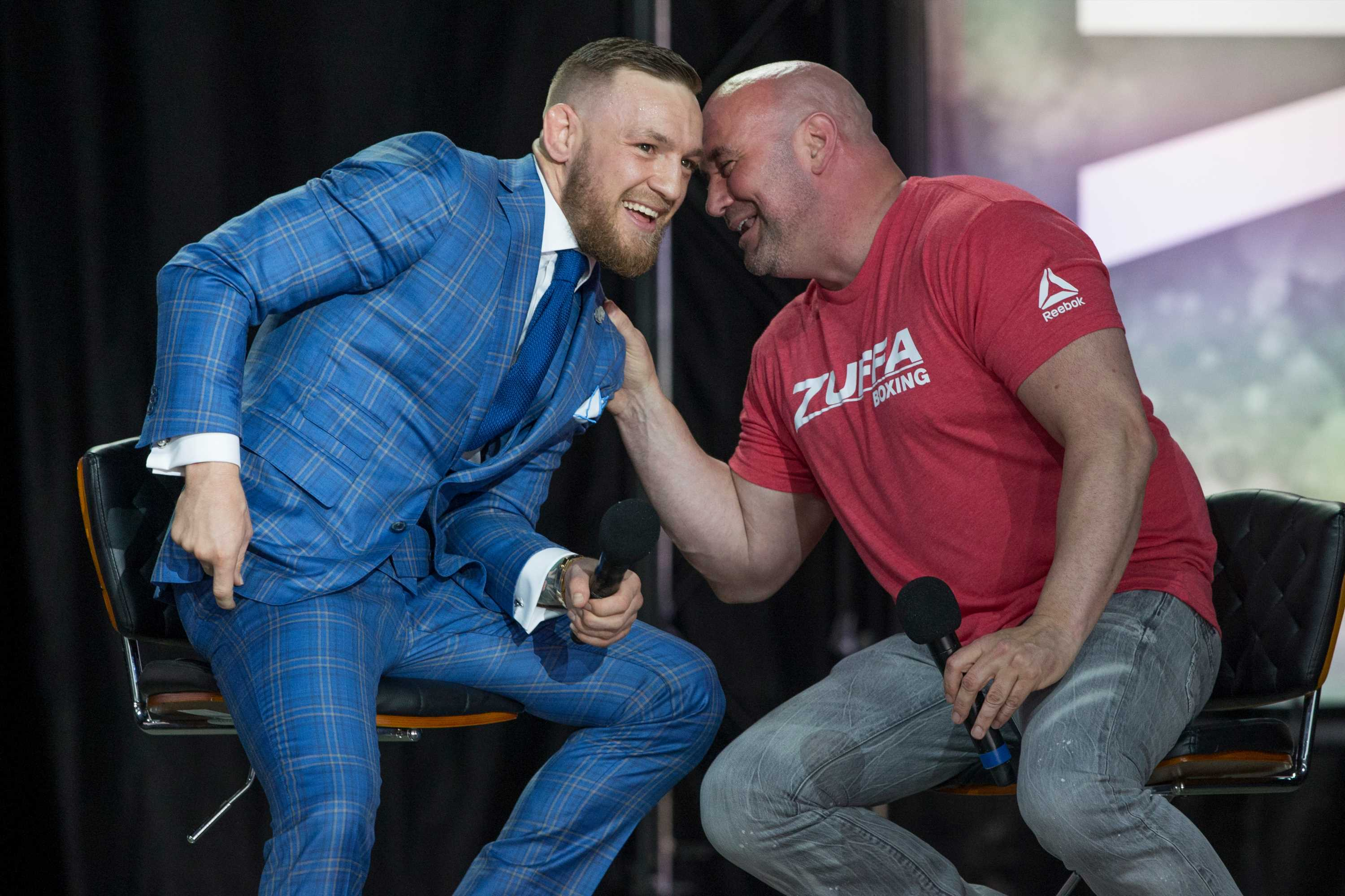 Conor McGregor vows to return for co-main event in exchange for UFC shares