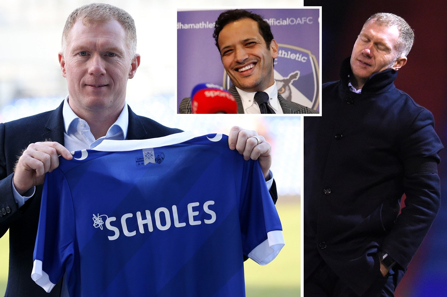 Inside Man Utd legend Paul Scholes' disastrous one-month Oldham reign from chairman picking team to bailiffs turning gas off