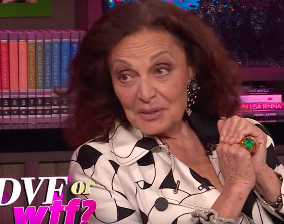 Diane Von Furstenberg On The Time She Hooked Up With Richard Gere