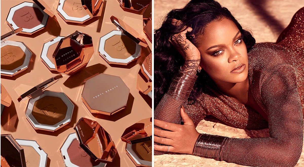 The New Fenty Beauty Sun Stalk'r Bronzers Come In 8 Shades & Drop Just In Time For Summer