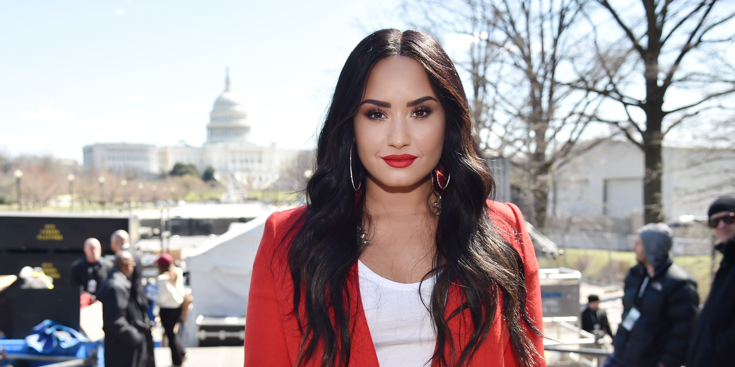 Demi Lovato Just Shared A Video Of Herself Knocking Out Her Trainer's Tooth