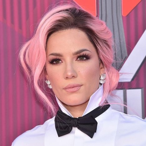 iHeartRadio Red Carpet: Halsey Dressed Like a Waiter, Taylor Swift Shimmered in a Sequined Romper … and More!