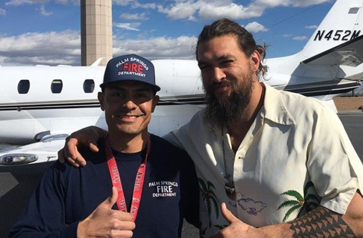 Terror In The Air: Jason Momoa's Plane Forced To Make Emergency Landing