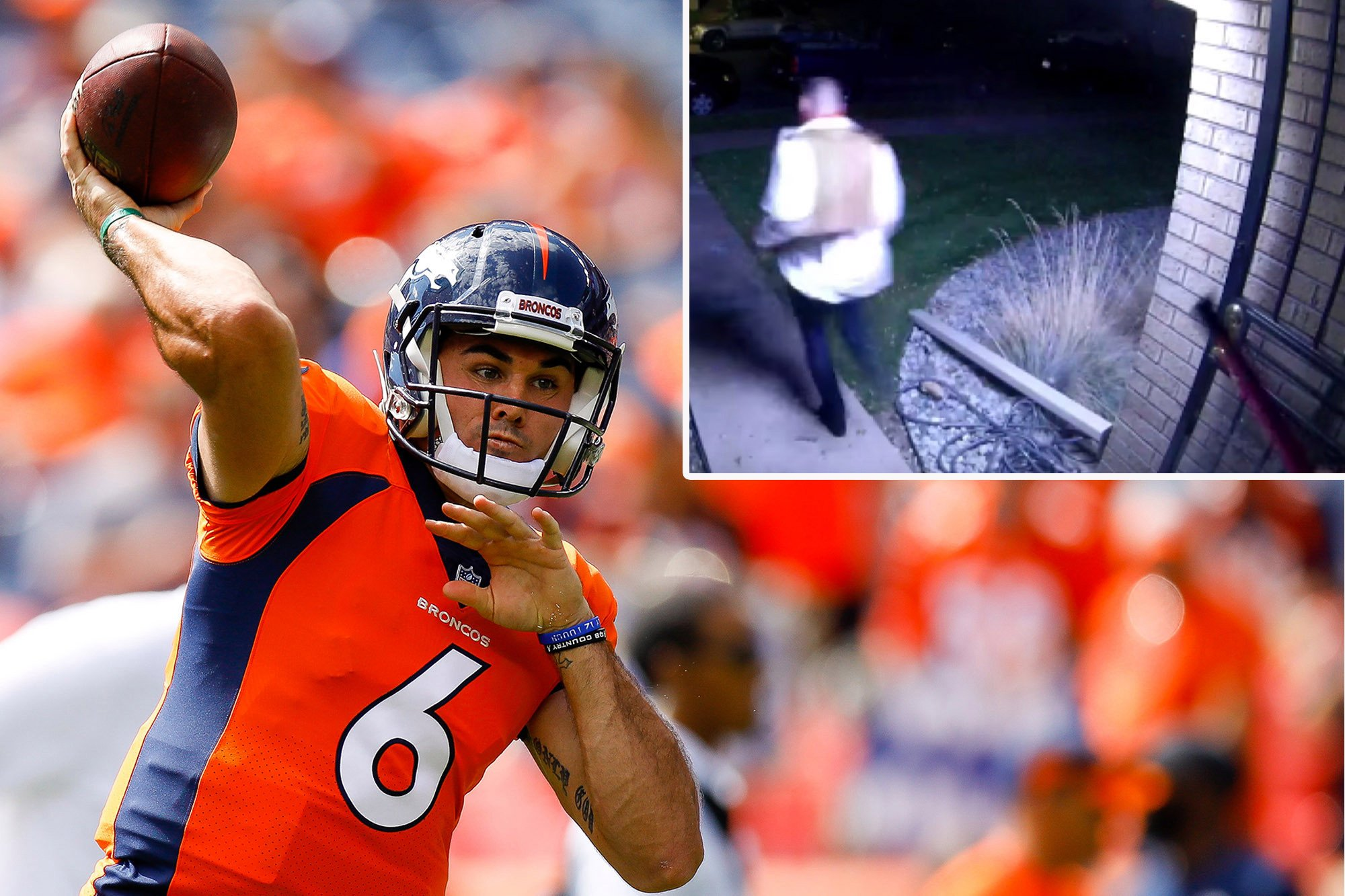 The moment Chad Kelly is chased from home with vacuum cleaner tube