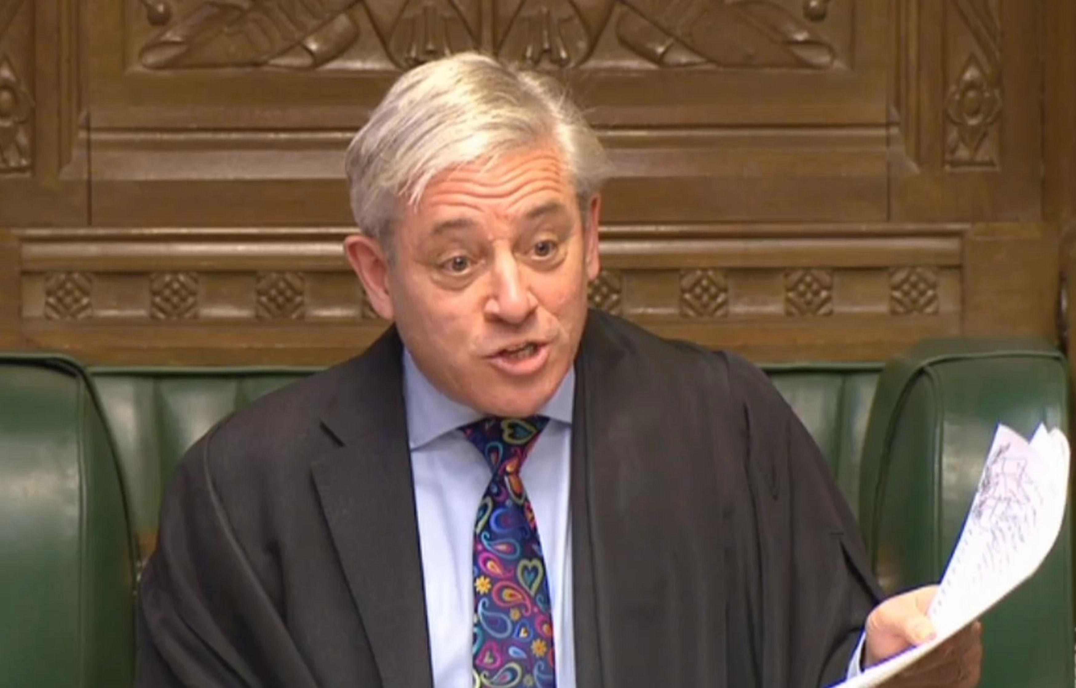 Is John Bercow a remainer and does the Speaker of the House of Commons have a say over Brexit?