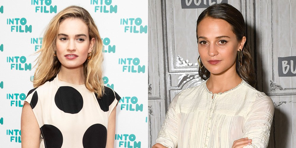 Lily James & Alicia Vikander Star in 'One Red Nose Day & A Wedding' – Watch the Teaser!
