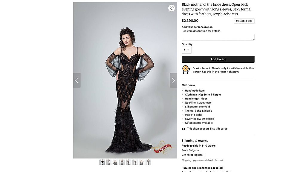 Risqué 'mother of the bride' dress goes viral on Twitter, gets mercilessly teased