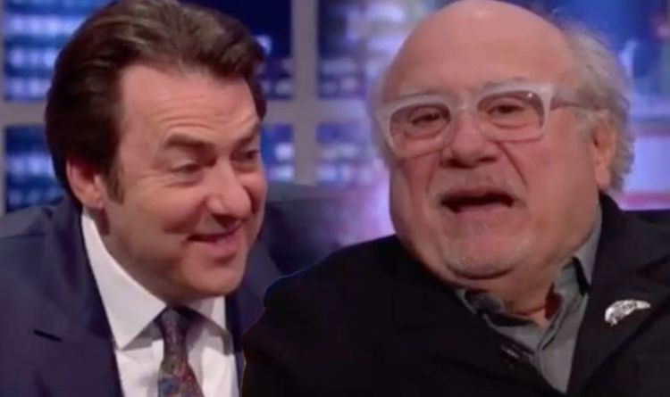 The Jonathan Ross Show: 'Danny STOP!' Host red-faced as Danny DeVito makes cheeky remark