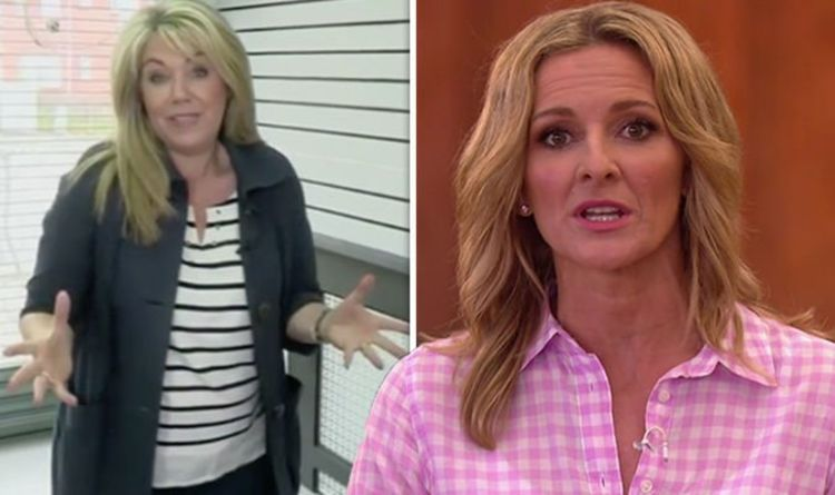 Homes Under the Hammer star Lucy Alexander and Gabby Logan disagree after 'bull***t' post