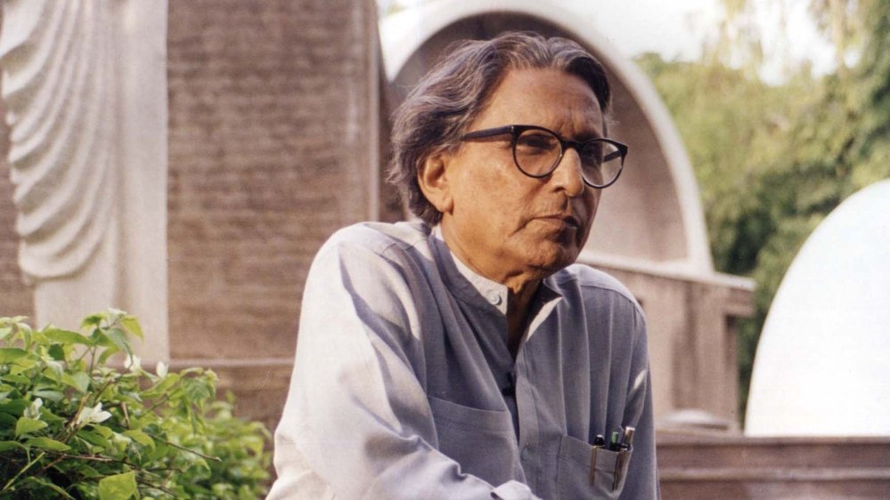 Balkrishna Doshi: 'Architecture is a backdrop to life'