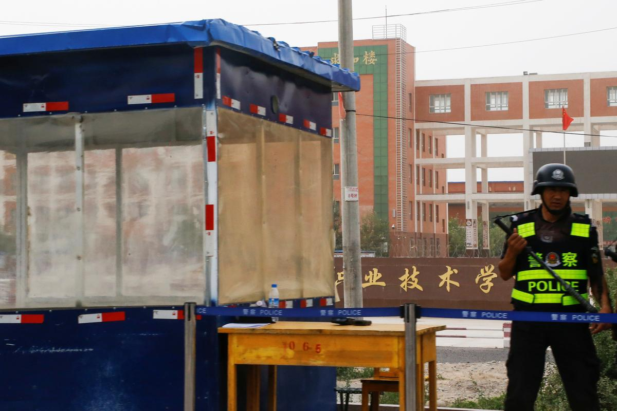 U.S. mulls sanctions against those behind rights abuses in China's Xinjiang