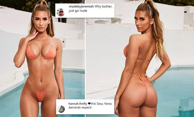 Tiny bikini which comes with a 'caution' sends Instagram into meltdown