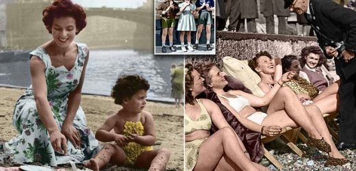 How Britain kept its cool during last Easter heatwave 70 years ago