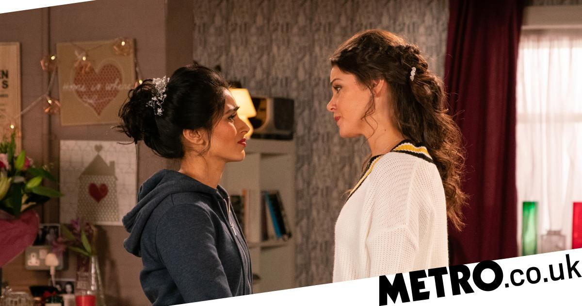 Kate gets a Rana shock from beyond the grave in Corrie