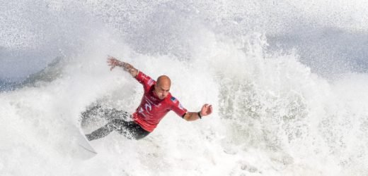 Kelly Slater: Top surfers Florence and Medina will go 'back and forth' at the top