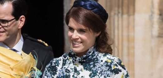 Princess Eugenie Visits Scene of Her Wedding for Outing With Queen Elizabeth