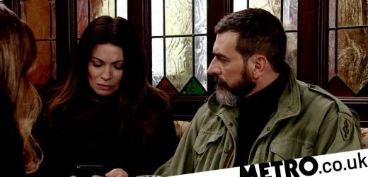 What is Peter Barlow and Carla Connor's relationship history in Corrie?