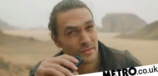 Jason Momoa has shaved his beard off, saying goodbye to GOT's Drogo forever