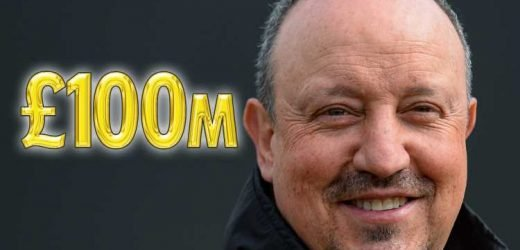 Benitez given green light to smash Newcastle transfer record with £100m two-year war chest
