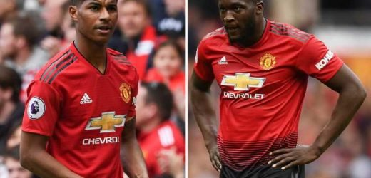 Man Utd's slim top four hopes rocked by Rashford and Lukaku injuries