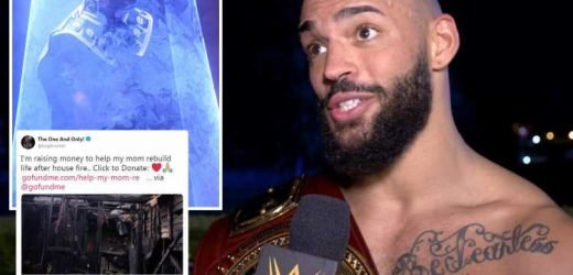 WWE news: Ricochet appeals for help from wrestling fans after his mother's house burned down