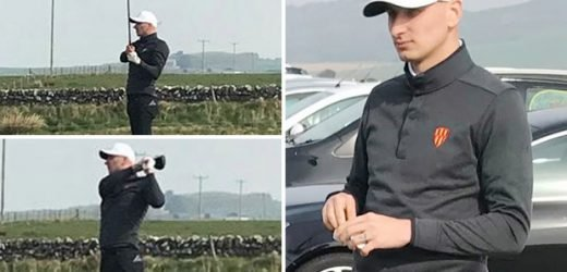 Jonjo Shelvey makes debut for Northumberland County golf team… after not starting for Newcastle in 2019