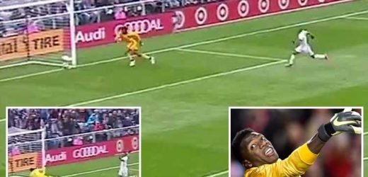 New York City keeper Sean Johnson scuffs ball into own net in unbelievable howler