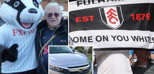 US Fulham fan sues after his Come On You Whites-themed number plate is branded racist
