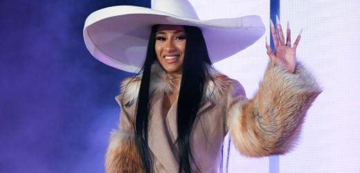 Cardi B. Posted A Nearly-Nude Video On Instagram And Her Abs Look AMAZING
