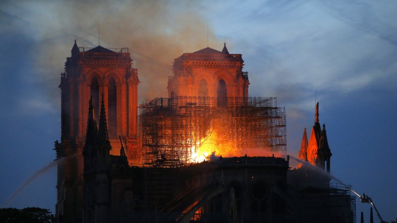 Millions pour in for Notre-Dame's repair as architects assess its ruin