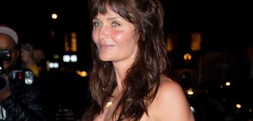 Ex-Vogue editor says Helena Christensen is 'too old' to wear a bustier