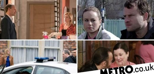 Shock death twists, exit, murder arrest and 7 more Corrie spoilers