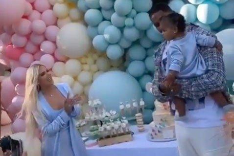 Khloé Kardashian, Tristan Thompson reunite to celebrate daughter True's birthday