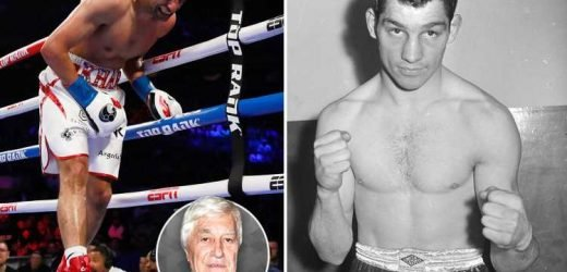 Tough Brit Wally Swift fought on with a broken jaw, he would have cringed at Amir Khan withdrawing after a low blow