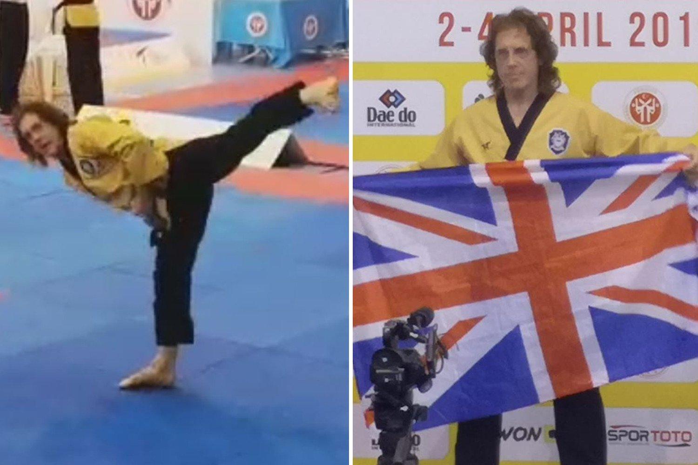 Stoke legend and ex-England international Mike Pejic wins Taekwondo European Championship in Turkey aged 69