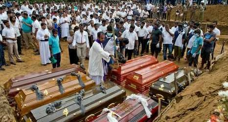 Sri Lanka's leader calls for officials' firings as Easter suicide bombers revealed to be 'well-educated people' who studied abroad