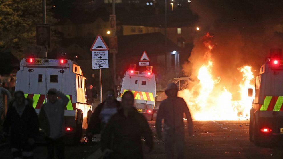 Journalist, 29, shot to death during riots in Northern Ireland
