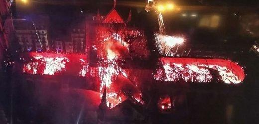 $339 million pledged to rebuild Notre Dame after fire nearly destroys Paris landmark