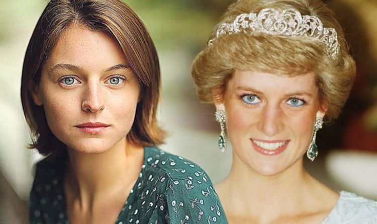 The Crown: Unknown actress to play Princess Diana