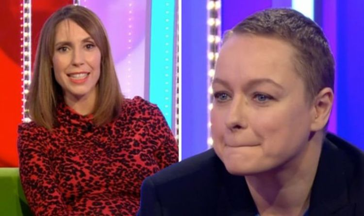 The One Show: Alex Jones forced to issue warning as guest begs 'No DON'T do it!'