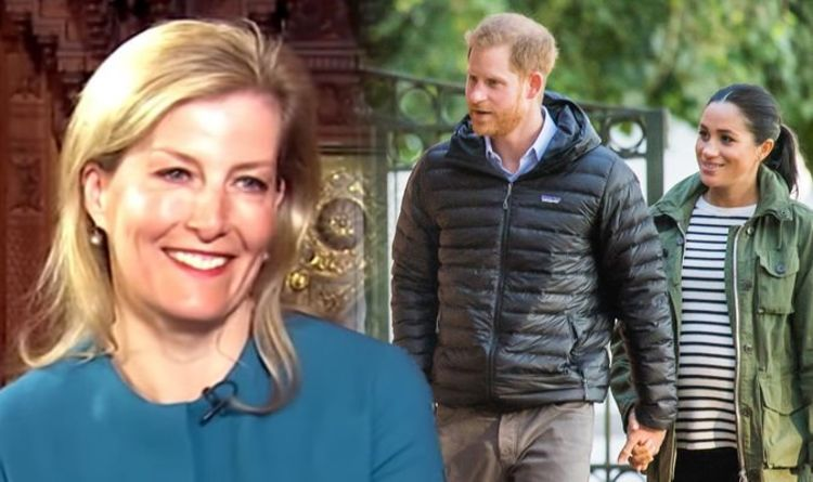 Meghan Markle: Sophie Countess of Wessex gives hint at what royal baby's life will be like
