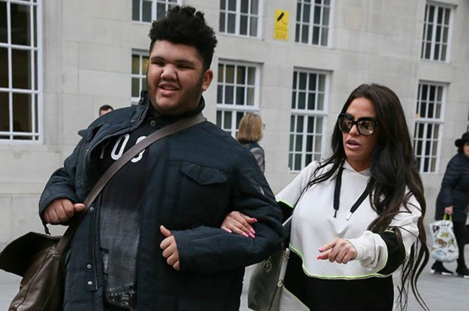 Katie Price slams claims she has put son Harvey into residential care