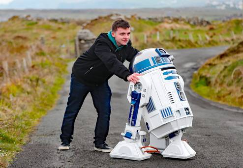 Take the R2D2: Donegal road named after 'Star Wars' robot